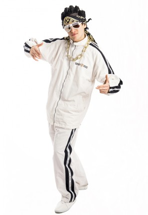 Mens Rapper Gangster Costume