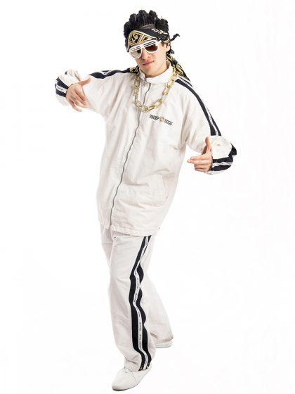 Mens Rapper Gangster Costume