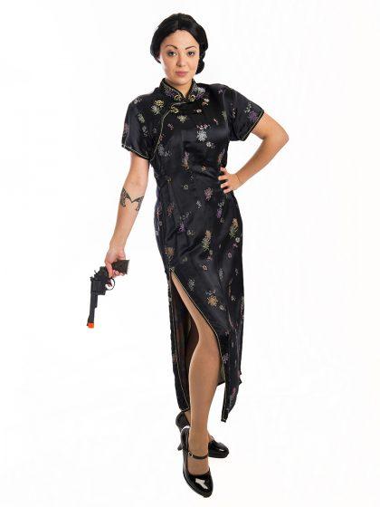 Bond Spy Ladies Costume