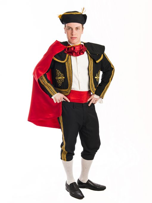 Spanish Bull Fighter Traditional Costume