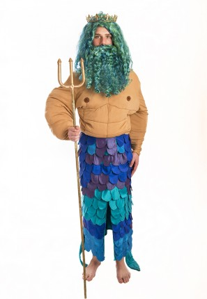 Merman Poseidon Costume