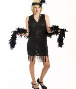 20's Burlesque Tassle Dress
