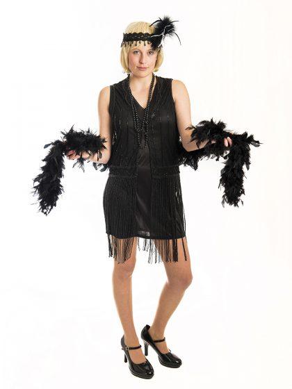 20's Burlesque Tassle Dress