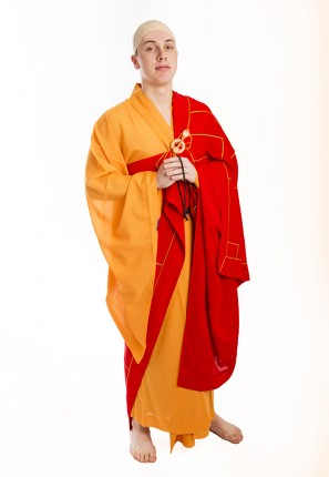 Monk Robes Male Outfit