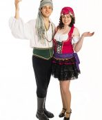 Gypsy Couple Bellydancer