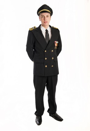 Military officer costume