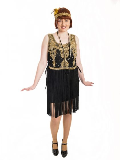 Gold Flapper Costume