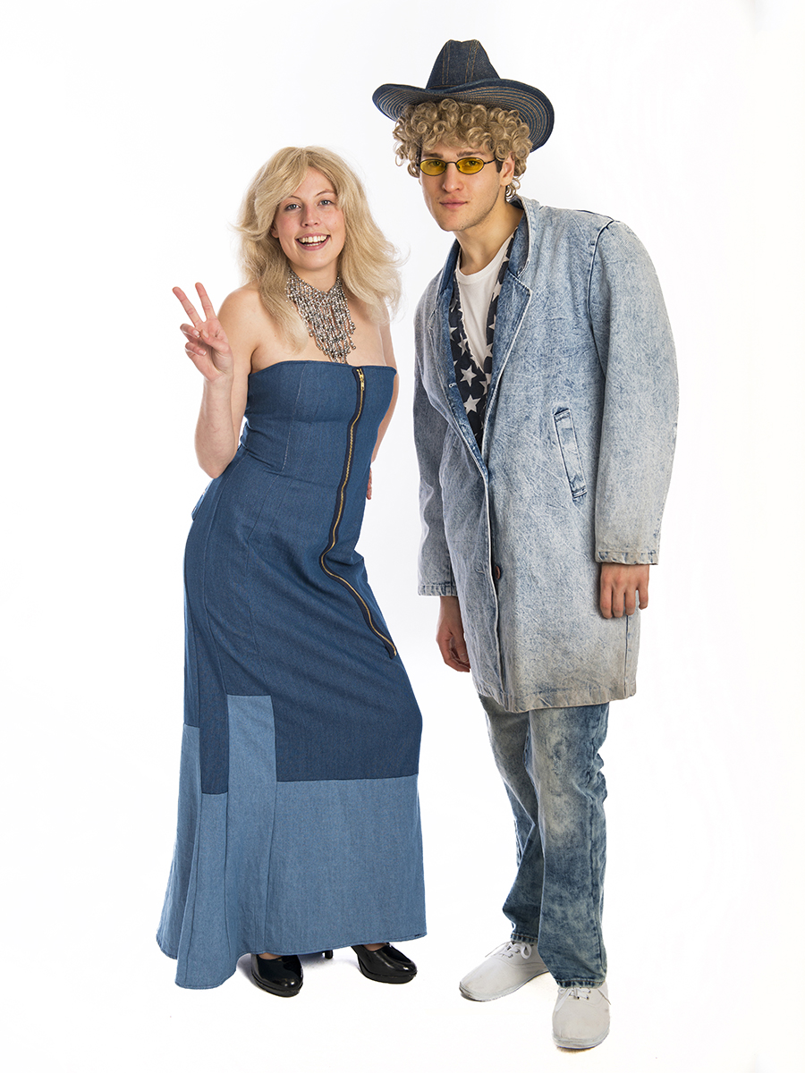 9c14721874f14 Britney and Justin Double Denim Costume -Creative Costumes