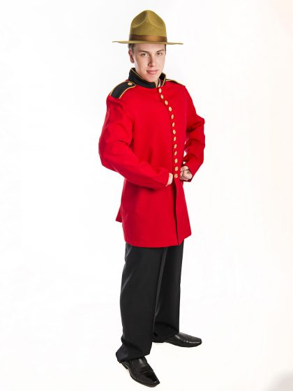 Canadian Mounted Police Uniform