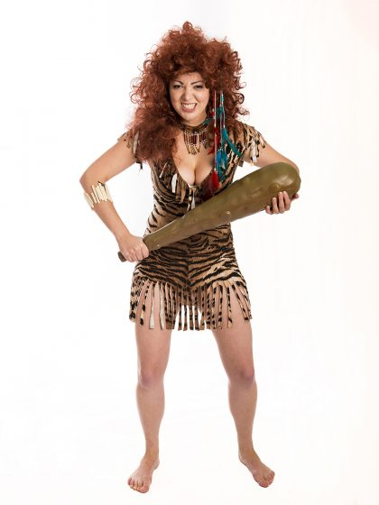 Cave woman tribal costume