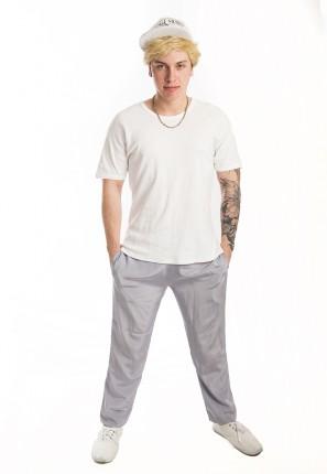 Rap Star Mens Costume -Creative Costumes Rockstar Games Tattoo