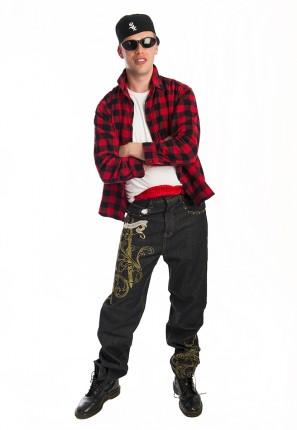 Mexican Gangsta Hip Hop Costume