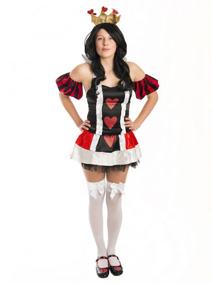 Alice in Wonderland Queen Costume