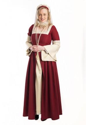 Queen Elizabeth Historical Dress