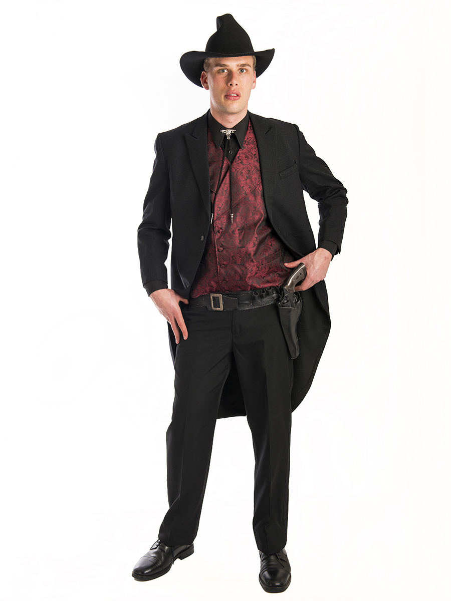 Western Gambler Mens Costume Creative Costumes