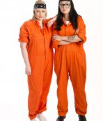 Orange Prison Jumpsuits