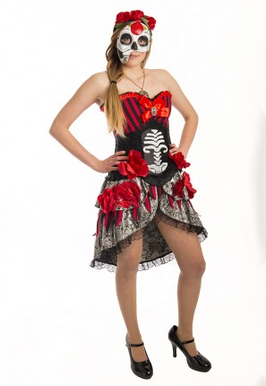 Day of the Dead Mexican Costume