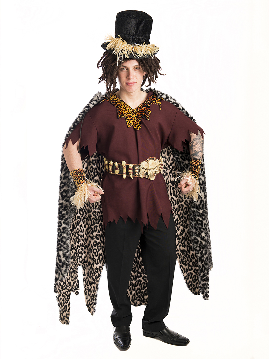 Voodoo Witch Doctor Costume -Creative Costumes