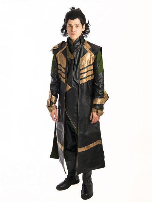 Loki Thor Avengers Costume