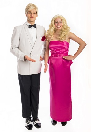 Barbie & Ken doll costume