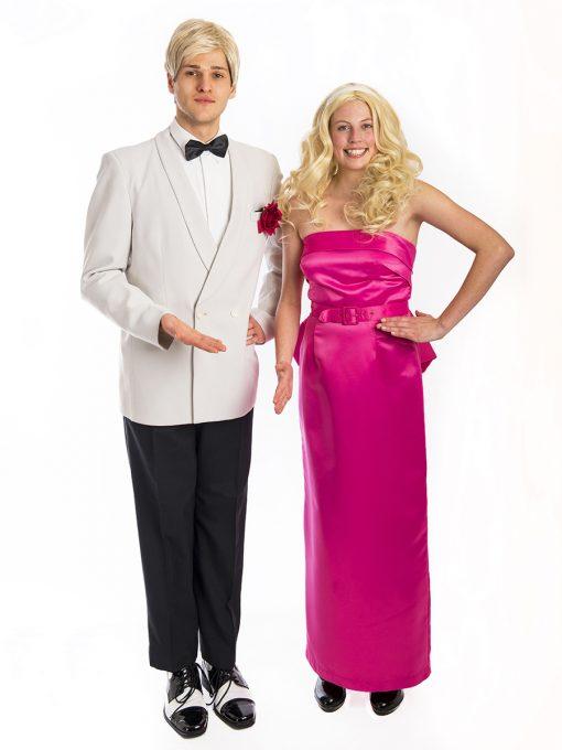 Barbie & Ken doll costume