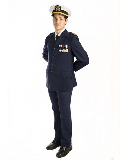 Military Uniform Ship Captain