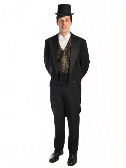 Formal mens Victorian suit