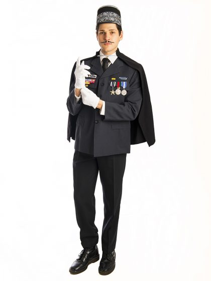 French policeman costume