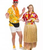 Tropical Tourist Hawaiian Costume