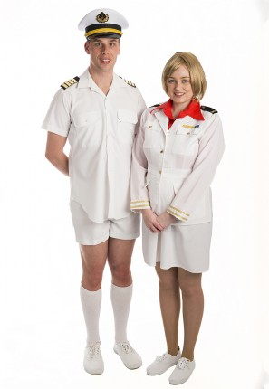 Ship Captain and Cruise Director
