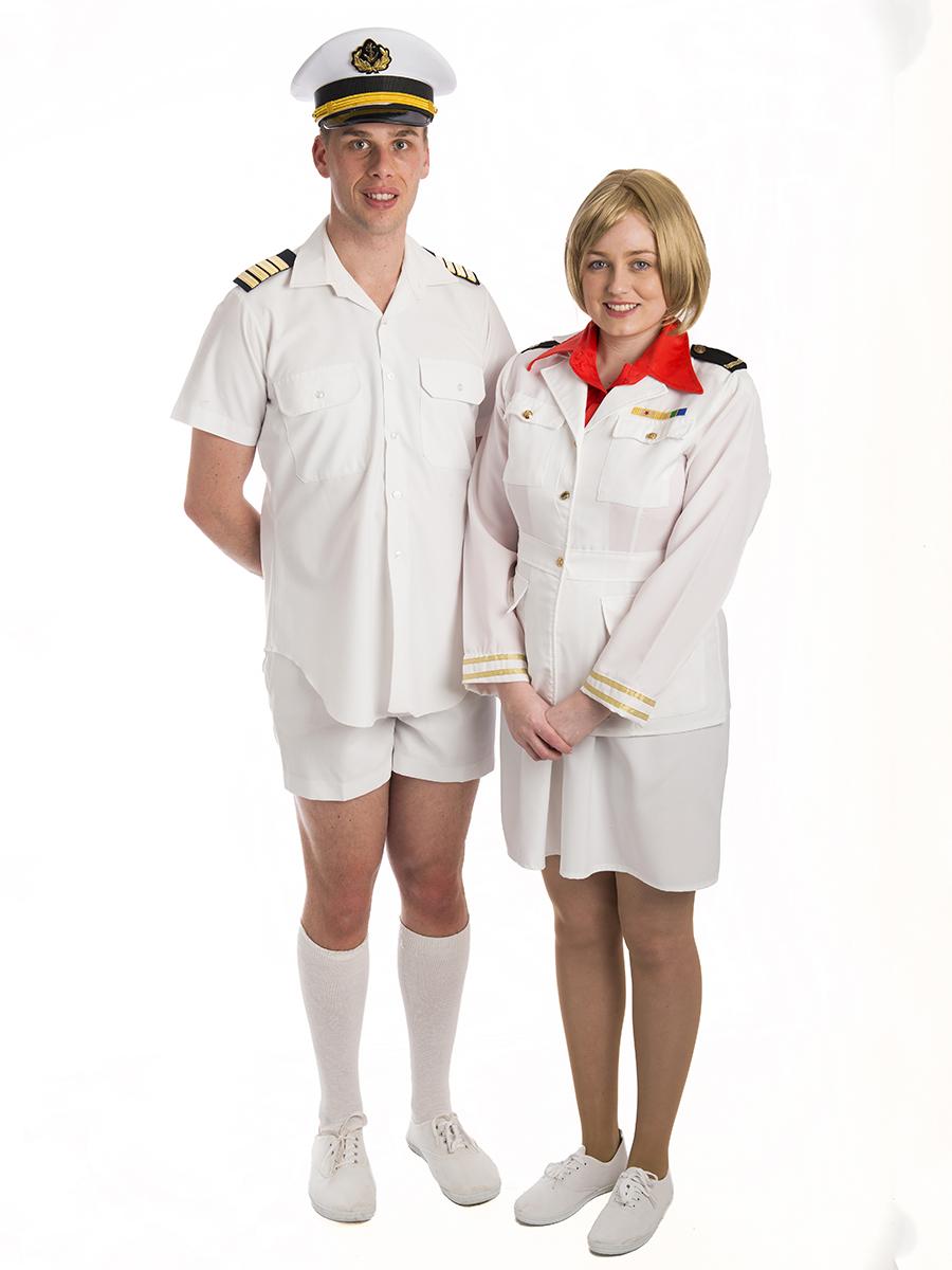 Love Boat Cruise Couple Costumes Creative Costumes - Cruise ship costume