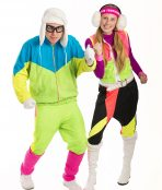 80s Ski Couple Costumes