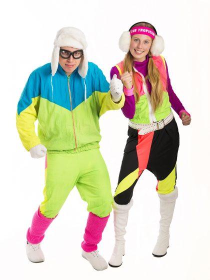 80s Ski Couple Costumes