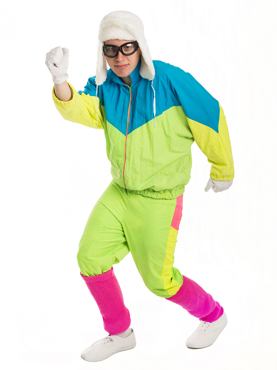 80s male costume  sc 1 st  Creative Costumes & 80s Fluro mens CostumeCreative Costumes