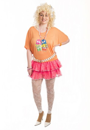 80s rara girl costume