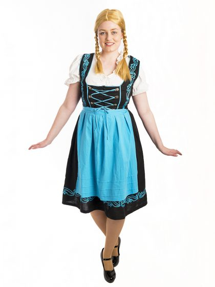 German Dirndl costume
