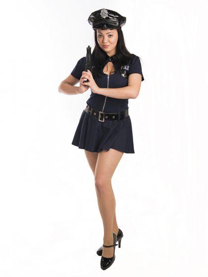 female cop costume