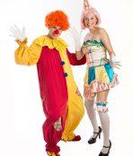 Circus couple costume