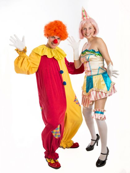 Circus couple costume