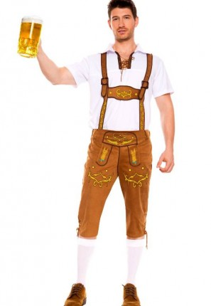German Lederhosen costume