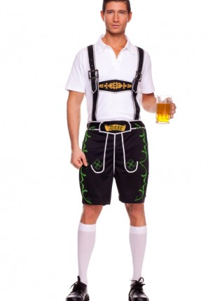 German Lederhosen costume