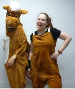 2 people horse costume