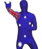 australian flag morphsuit