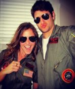 top gun couple costume