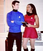 Star Trek couple costumes