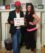 Kim and Kanye costume couple