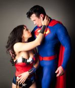 superman wonderwoman costumes