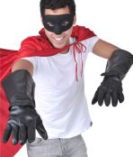 Super Hero black gloves