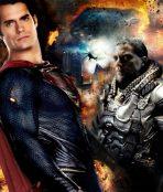 Superman fights Zod