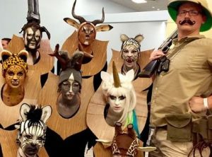 Group animal costumes